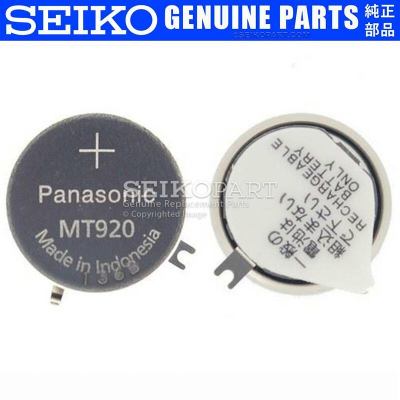 Seiko Solar Watch Capacitor Battery 302334T 3023-34T f/ V172 V174 V175 V176 VX33