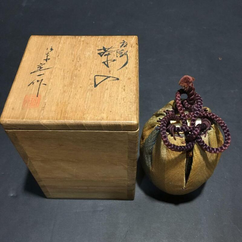 Tea Caddy Ceremony Chaire Sado Japanese Traditional Crafts t599