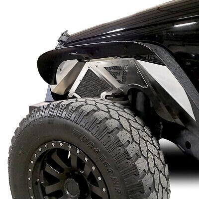 JF Aluminum Fender Liner Set Front Wheel Well For Jeep Wrangler JK 2007-2018