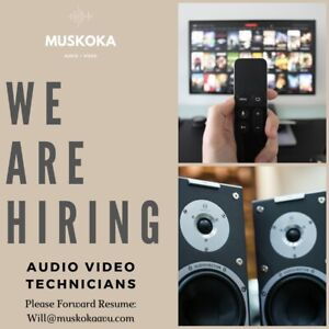 WANTED : Audio Video Tech