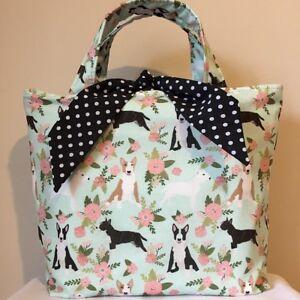 English Bull Terrier Dog Print Bag