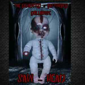 SAW-HEAD  - Unique Horror Dolls! Helensvale Gold Coast North Preview