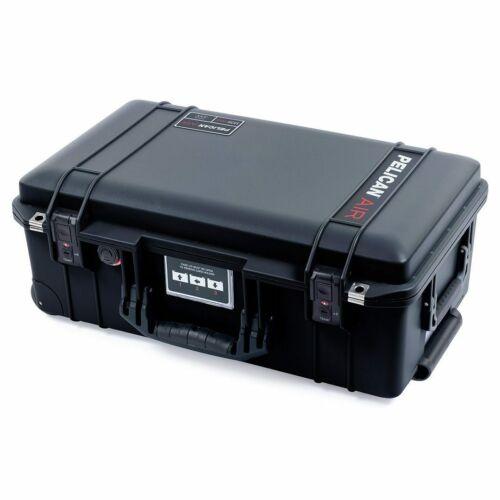 Black Pelican 1535 Air case. With TSA locking latches. Comes no foam - empty.