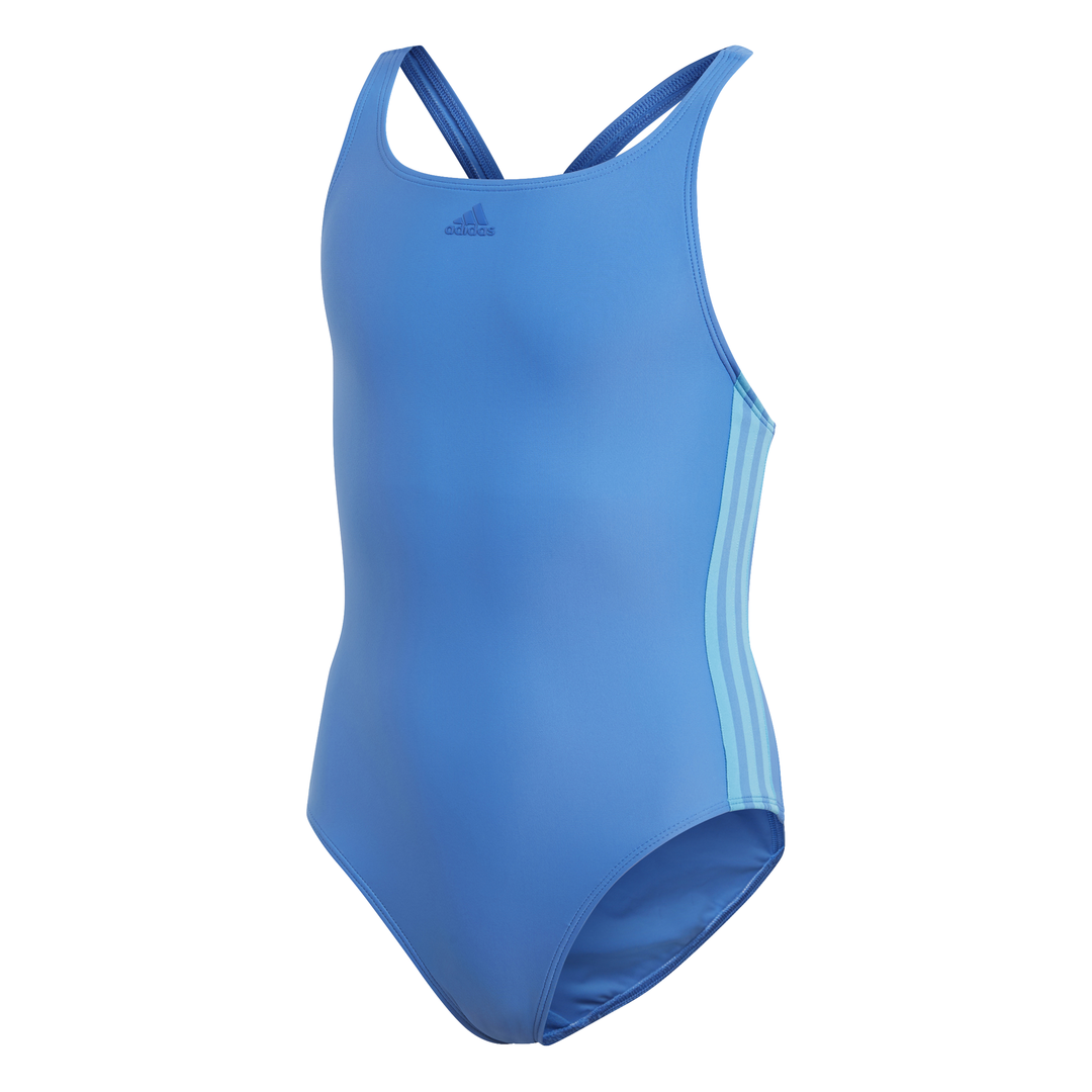 Adidas Damen Badeanzug 3 Stripes Passform Anzug Bademode Training Pool Strand