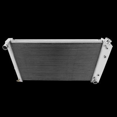 All Aluminum Fit for  Chevy C10 Pickup 3 Rows Radiator w28 Core Brand New