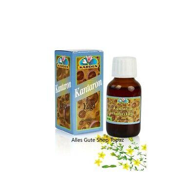 Kantaron Yag Hypericum Perforatum Oil Cantaron St. Johanniskraut Bio Natur 100%