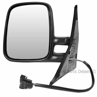 Black Electric Heated Wing Door Mirror Unit Left for VW T4 1990 2003
