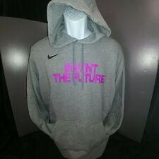 Men/'s Hoodie **Brand New**-2XL with Fuchsia Nike Nationals EYBL Grey