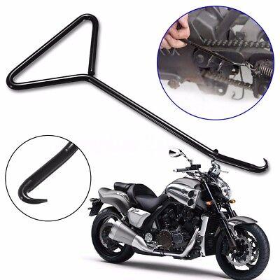- T-Handle Exhaust Stand Spring Hook Puller Iron Tools Motorcycle Kart Bike ATV