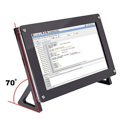 "7"" IPS Display Monitor HD LCD HDMI VGA NTSC PAL Screen Raspberry Pi 3, 2 Model B"