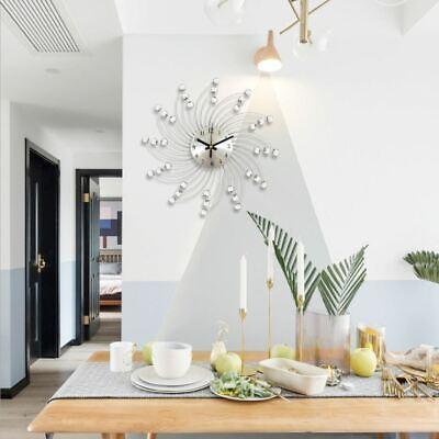 Wanduhr Wand Uhr Küchenuhr Moderne Design Bürouhr Quartz Uhr Wohnzimmer Eisenuhr