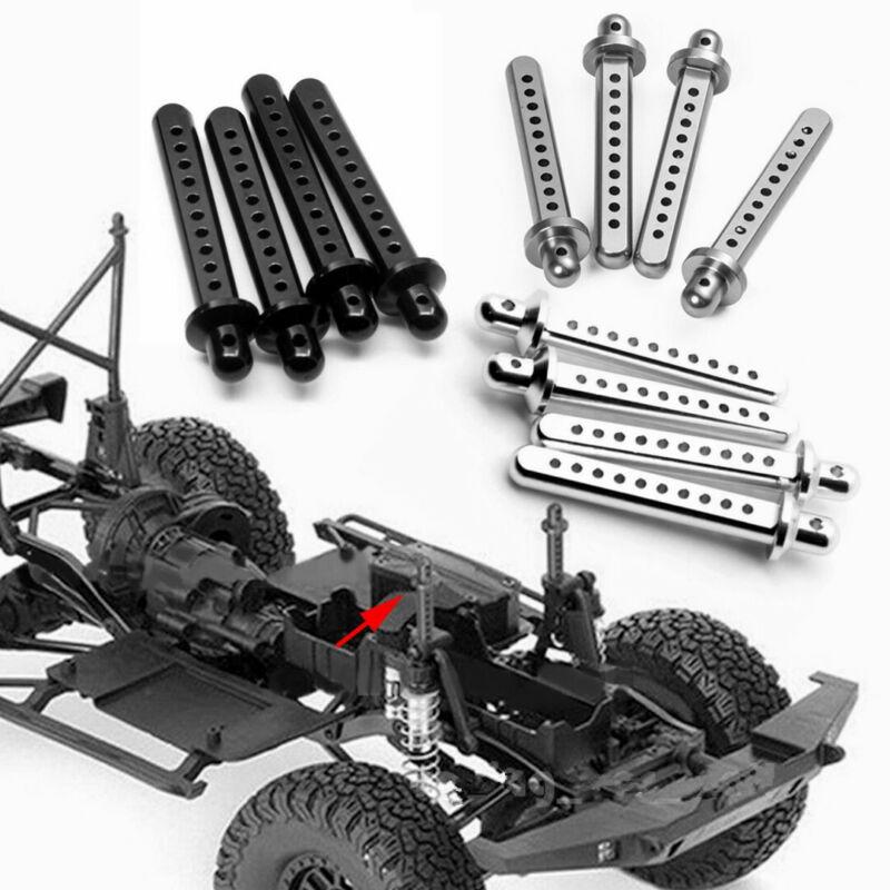 Car Parts - 4Pcs Aluminum Body Post Mounts Parts For RC Car Crawler 1/10 Axial SCX10 US FAST