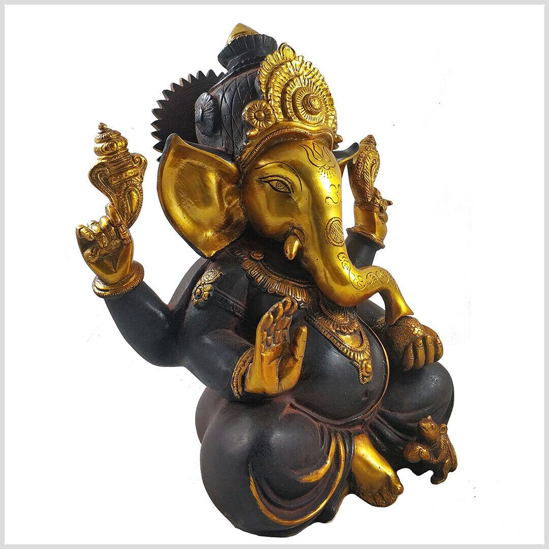 Ganesha 18.5 cm 1.7 KG Glücksgott Ganesh Ganescha Shiva Rama Hanuman Hinduismus