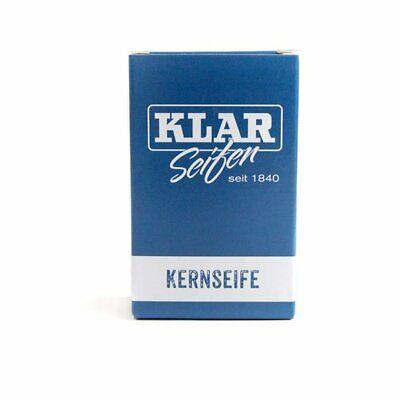Klar Seifenmanufaktur Kernseife,Seife,frei von Duft,Farbstoffen und Palmöl,vegan