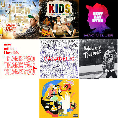 Mac Miller - Mixtape Collection CD Best Day Ever KIDS Macadelic Faces Thank