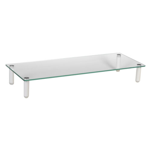TV LCD LED Computer Monitor Laptop Table Riser Shelf Desktop Stand Space Saver