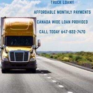 Truck, Trailer, Heavy duty equipment loan in Calgary