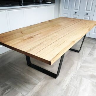 Stunning Solid Vic Ash Dining Room Table For Sale