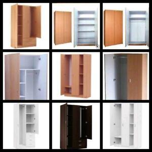 Special new 2 door wardrobe fro $139/3 door from $199