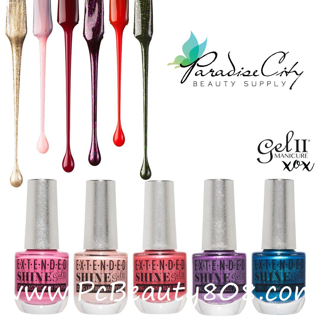 gel ii extended shine long lasting nail