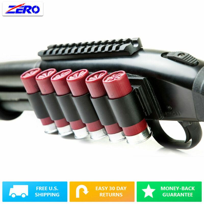 Side Saddle 12G Gauge Shortguns Holds 4 or 6 Shotshells Aluminum Heavy Duty