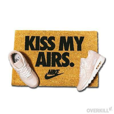 New Nike Kiss My Airs Doormat Nike Air Max Day Mat Shoes Nike x Overkill 2017