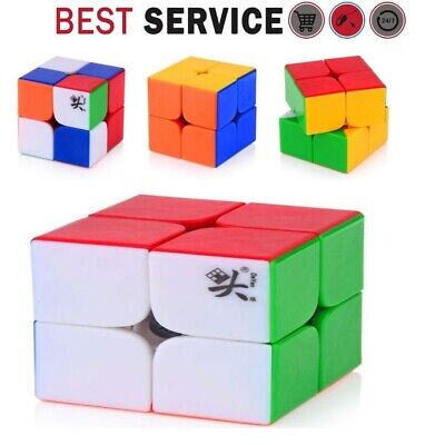 BEST Magic Speed Cube Puzzle Game Toy 2x2 for Kids Iq and Metal Stress