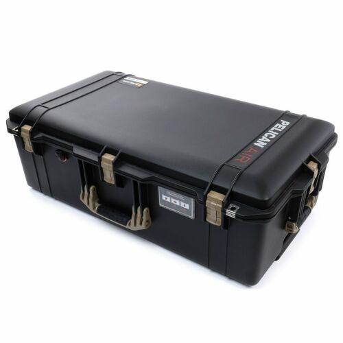 Black & Tan 1615 Air case. No Foam - empty.  With wheels.