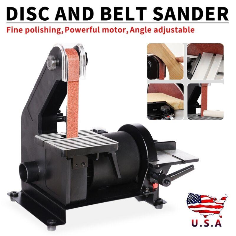 300W Workshop Bench Combination Belt Disc Top Power Sander S