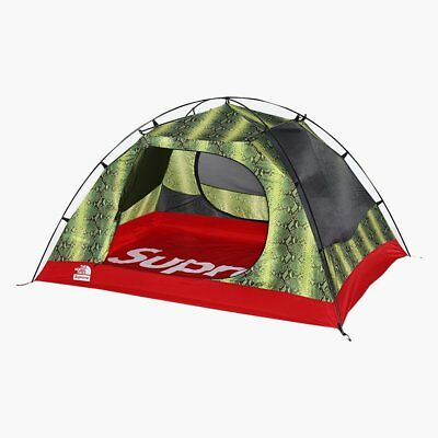 BNIB SUPREME THE NORTH FACE SNAKESKIN STORMBREAK 3 TENT GREEN! IN HAND! GENUINE!