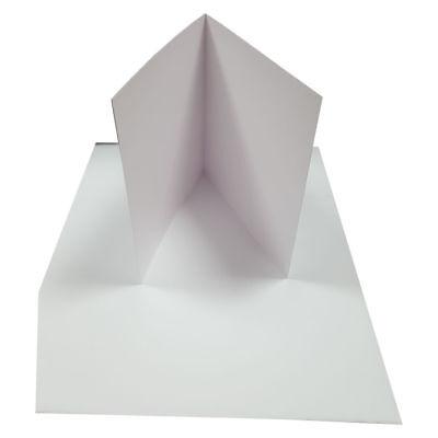 20 Doppelkarten Perlmutt Weiss Quadratisch 160x160 mm Pollen by Clairefontaine