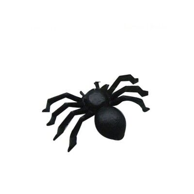 20 x Small Plastic Fake Spiders for Prank Joke April Fool Fancy Dress Halloween (Halloween Games For Small Children)