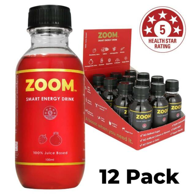 ZOOM Natural Recovery Energy Nootropic Drink 100% Juice Based | 5 Star | Other Sports & Fitness ...
