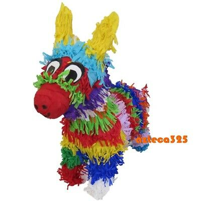 Mexican Pinata Burrito Donkey Small 12 inches Tall