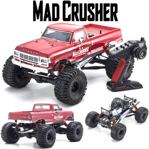Kyosho Mad Crusher GP 1:8-scale Nitro Powered RC Monster Tru