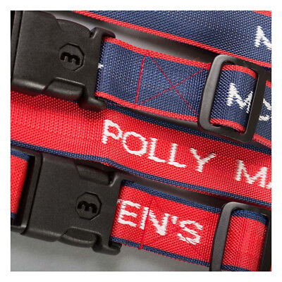 Personalised Woven Luggage Straps with lock secure your suitcase while traveling Woven Luggage Strap