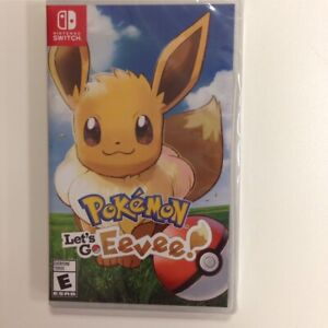 New and sealed Pokémon let's go eevee!