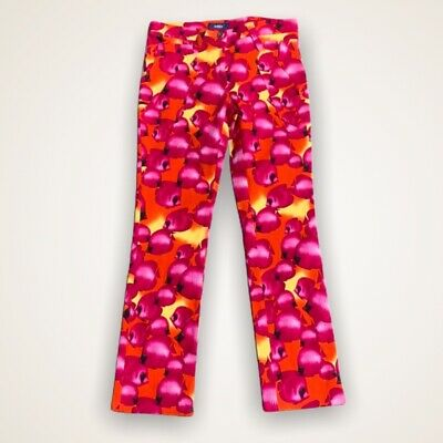 Vintage Versace Patterned Women's Trousers, W30 - Flawless Condition
