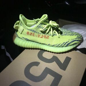 BRAND NEW Yeezy Frozen Yellow size6