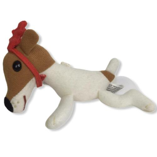 Vintage 90s Olive The Other Reindeer Plush Ornament Christmas