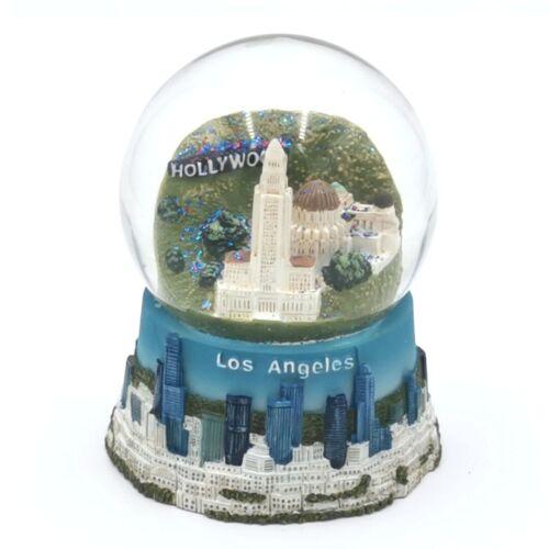 Snow Globe Los Angeles LA Hollywood City Hall Collectors Item - DPRC Decoration