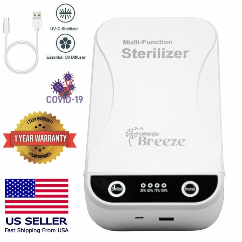 UVC Box Sterilizer Ultraviolet Cleaner Cell Phone Sanitizer Disinfection Case