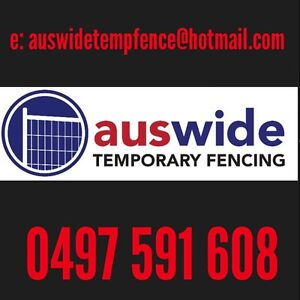 AWTF temporary fence hire /sales Sydney Region Preview