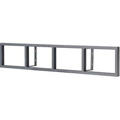 Ikea Lerberg CD/DVD/GAMES/BLU-RAY Regal Wall Rack/Shelve Anthrazit Grey Grau