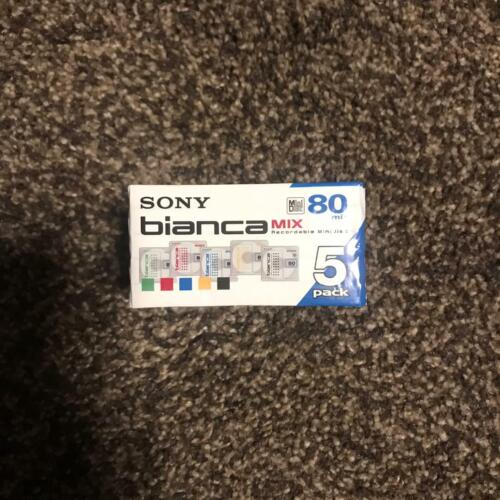 Sony Bianca recordable minidisc pack 5