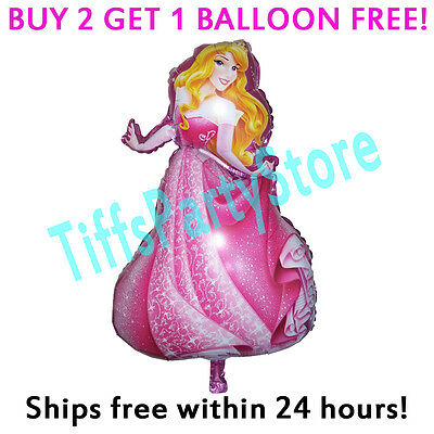 HUGE 2-Sided Sleeping Beauty Mylar Balloon Birthday Party Disney Princess - Sleeping Beauty Birthday