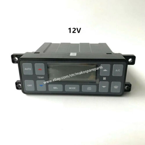 543-00107 Air Conditioner Controller DX255 DX140 Fit Daewoo Doosan Excavator 12V