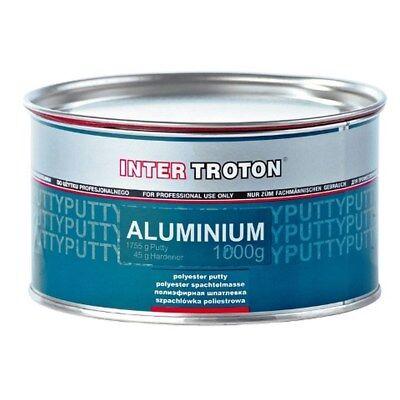 2 x Aluminiumspachtel 1,8 KG + 45 g Härter Spachtelmasse Karosseriereparatur