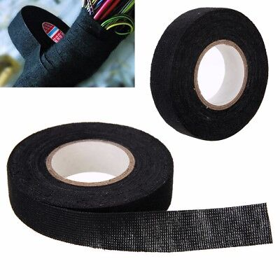 2X High Quality Adhesive Cloth Fabric Tape Cable Looms Wire Harness 19mm x 25m