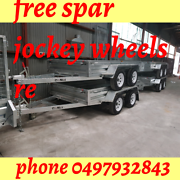 Fully welded trailers tandem axle 8x5 Patterson Lakes Kingston Area Preview